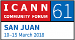 ironDNS® at the 61st ICANN conference in San Juan, Puerto Rico